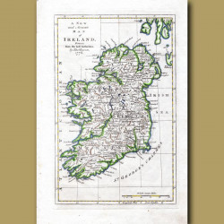 A New And Accurate Map Of Ireland