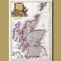 A New And Accurate Map Of Scotland