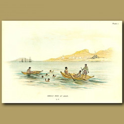 Somali Boys At Aden