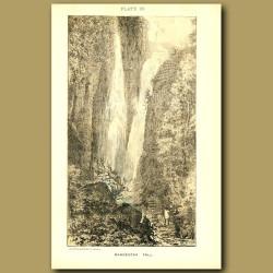 Rangbodda Falls In Sri Lanka