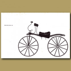Hobby-Horse Bicycle 1791