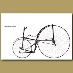 Lawson 'Lever' Safety Bicycle, 1876