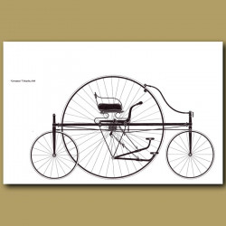 Coventry' Tricycle, 1876
