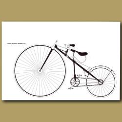 Lawson 'Bicyclette' Machine, 1879