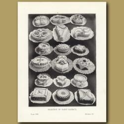 Selection Of Fancy Gateaux