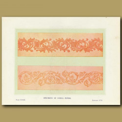Specimens Of Scroll Piping