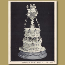 Two-Tier Bride's Cake