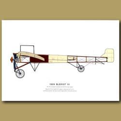 Bleriot XI Plane 1909