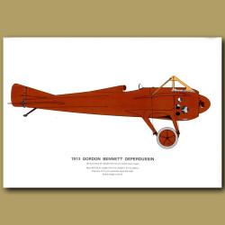 Gordon Bennett Deperdussin Plane 1913