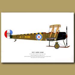 Avro 504K Plane 1917