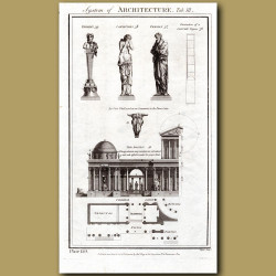 System of Architecture (Statues, Basilica)
