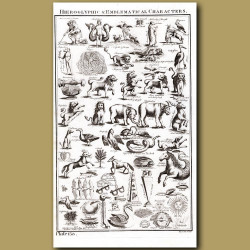 Hieroglyphic and Emblematical Characters