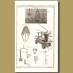 System Of Hydraulics And Hydrostatics (Diving Bell etc)