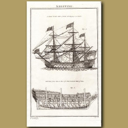 Shipping: A first Rate Ship Of War