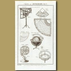 System Of Astronomy: Celestial Globes Etc