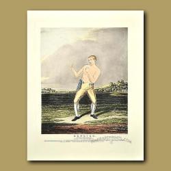 Boxing Champion. Bendigo (Wm Thompson, Champion Of England)