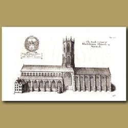 Black-Friers Church In Norwich, South Prospect