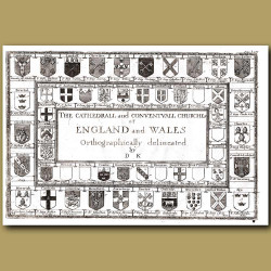 Cathedral Crests Of England And Wales