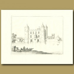 French Castle And Moat