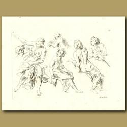 Drawings Of Men And Women