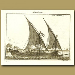 Galley With Sails