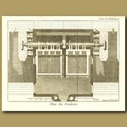 Plan Of A Mill