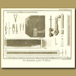 Instruments To Make Velvet