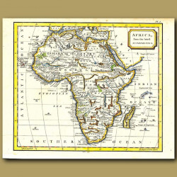 Map Of Africa From The Latest Authorities