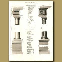 Architecture: Corinthian columns etc.