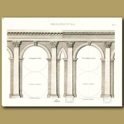 Architecture: Composite arch etc.