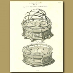 The Grand Orrery By Rowley And Ferguson's Orrery