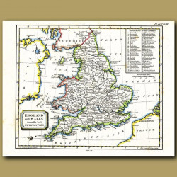 Map Of England And Wales By The Best Authorities