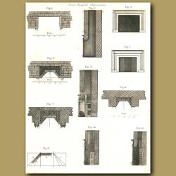 Architecture: Fireplace designs etc.