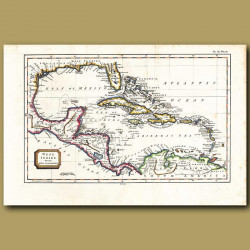 Map Of The West Indies From The Best Authorities
