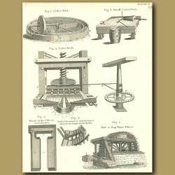 Cider mill and Cider Press