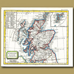 Map Of Scotland From The Best Authorities