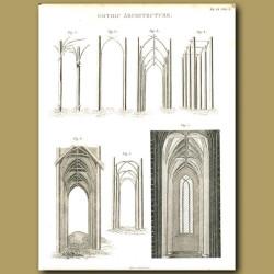 Architecture: Gothic architecture etc.