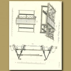 Mr Bowden's Batting machine