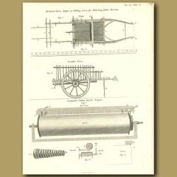Mr.Snart's Horse-helper and Barrel Organ