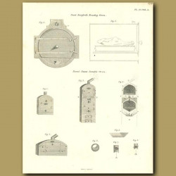 Count Rumford's Roasting Oven and Portable Oven