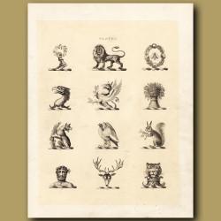 Heraldry 1: Lion, Eagle, Wolf etc