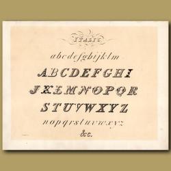 Example of Italic font