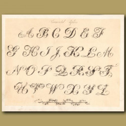 Example of Ornamental font