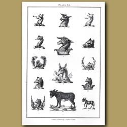 Donkey, Greyhound, Bear