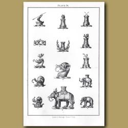 Castles, Elephants, Bridge
