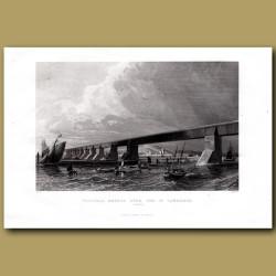 Victoria Bridge Over The St. Lawrence River, Canada