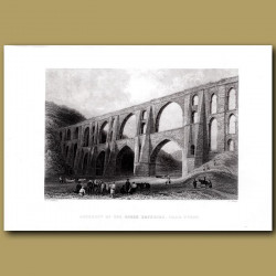 Aqueduct Of The Greek Heroes Near Pyrgo