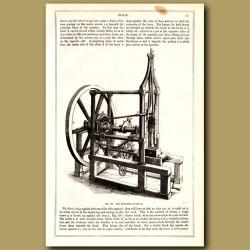 The Mortising Machine