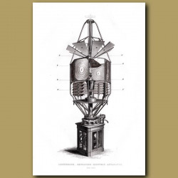 Lighthouse. Revolving Dioptric Apparatus