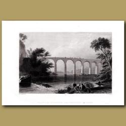 Viaduct Of Baltimore And Washington Railroad